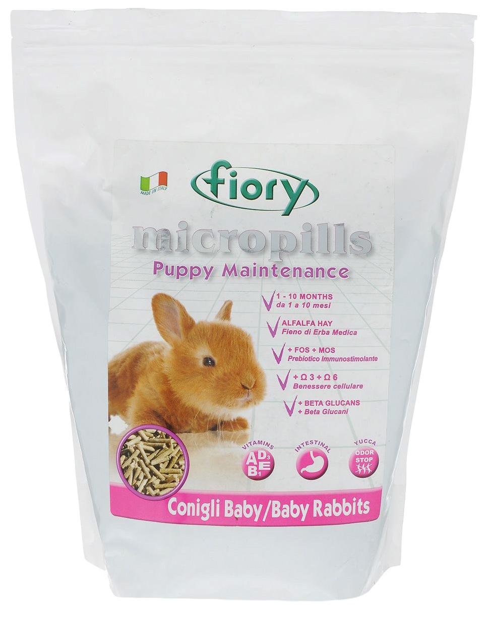 Корм для кроликов FIORY Micropills 2