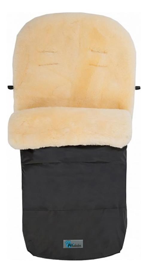 Купить Конверт-мешок для детской коляски Altabebe MT2200LP Lambskin-Footmuff Black, Конверты в коляску
