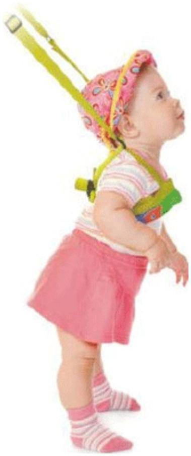 Вожжи детские Фея 0005533
