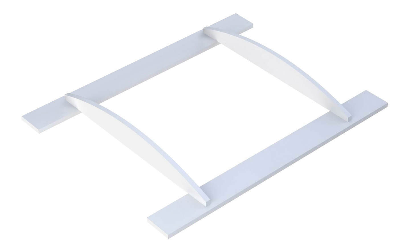 Пеленальная доска Тополь Polini Basic белый