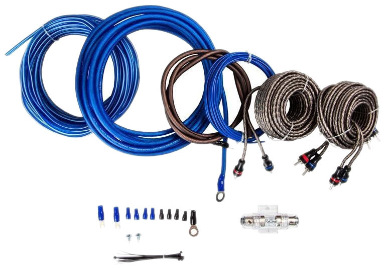 Комплект проводов для подключения усилителя KICX 2043006