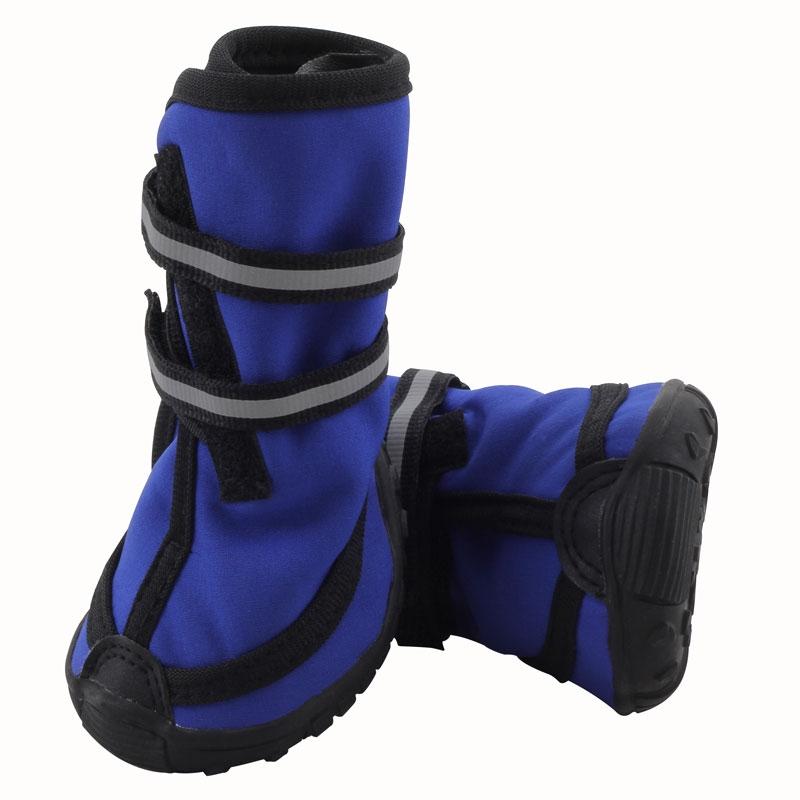 Обувь для собак Triol размер L, 4 шт синий