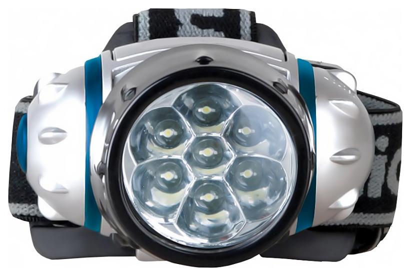 Туристический фонарь Camelion 5318-7MX серебристый, 2 режима