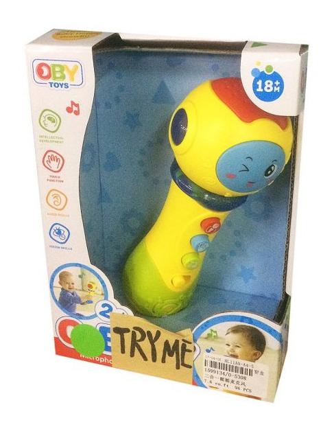 картинка Музыкальная игрушка Shantou Gepai микрофон O-5308 от магазина Bebikam.ru