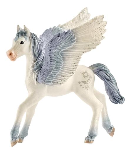 Купить Баяла эльфы жеребенок пегаса, Фигурка лошадки Schleich эльфы жеребенок пегаса 70543, Фигурки животных