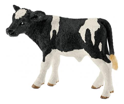Купить Фигурка Теленок голштинской породы Schleich Farm World 13798, Игровые фигурки