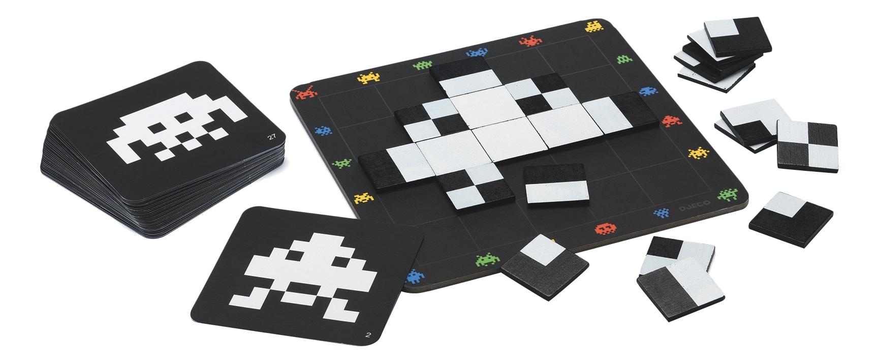 Купить Семейная настольная игра Djeco Пиксели, Семейные настольные игры