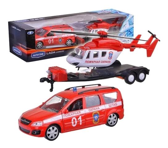 Коллекционная модель Lada largus Пожарная охрана