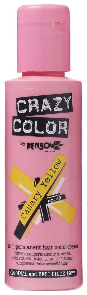 Краска для волос Crazy Color Semi Permanent Hair