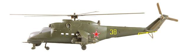 Купить Модели для сборки Zvezda Советский ударный вертолет Ми-24В,