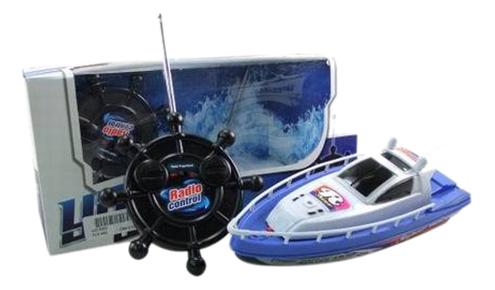 Купить Катер на радиоуправлении Shantou Gepai Детский синий от 4 лет пластик, Радиоуправляемые катера