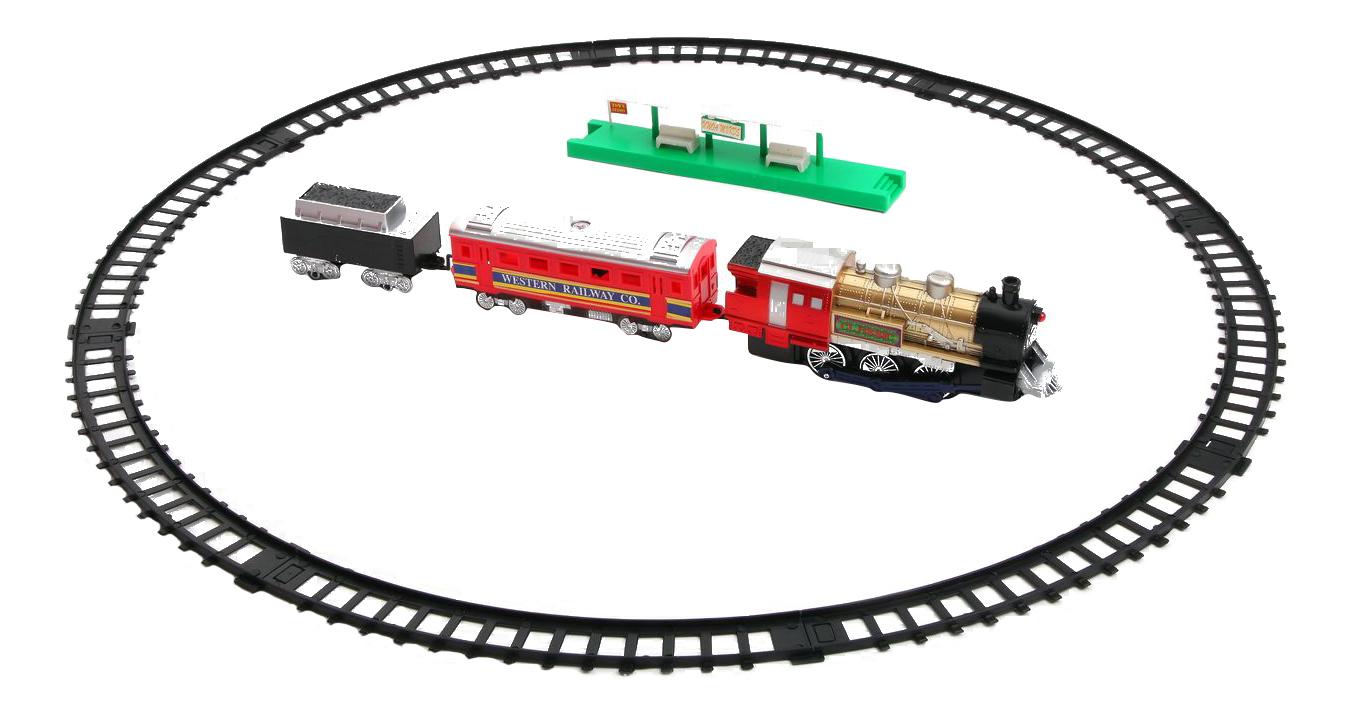 Железная дорога с дымом Юнион-экспресс Shenzhen Toys Б6063