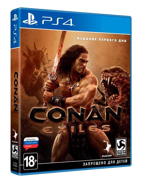 Игра Conan Exiles для PlayStation 4