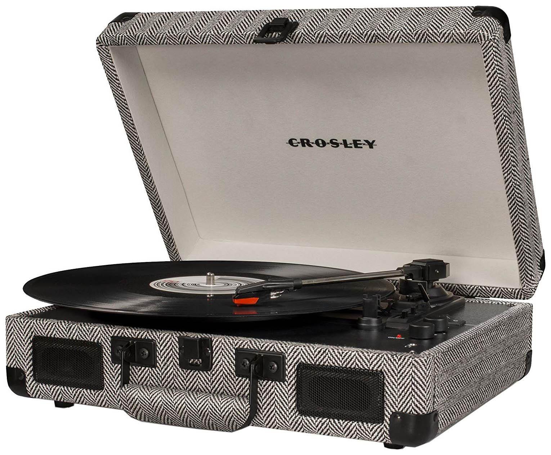 Проигрыватель виниловых пластинок Crosley Cruiser Deluxe CR8005D-HB Dark Grey фото