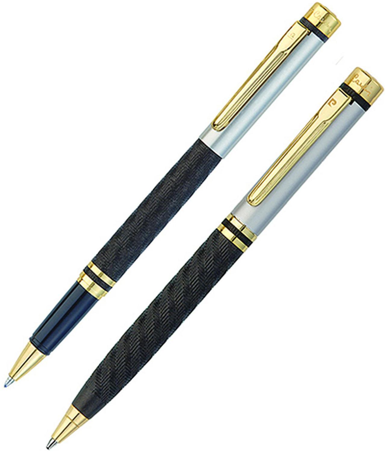Набор подарочный Pierre Cardin Pen#and#Pen - Matte Black, шариковая ручка + ручка-роллер, M