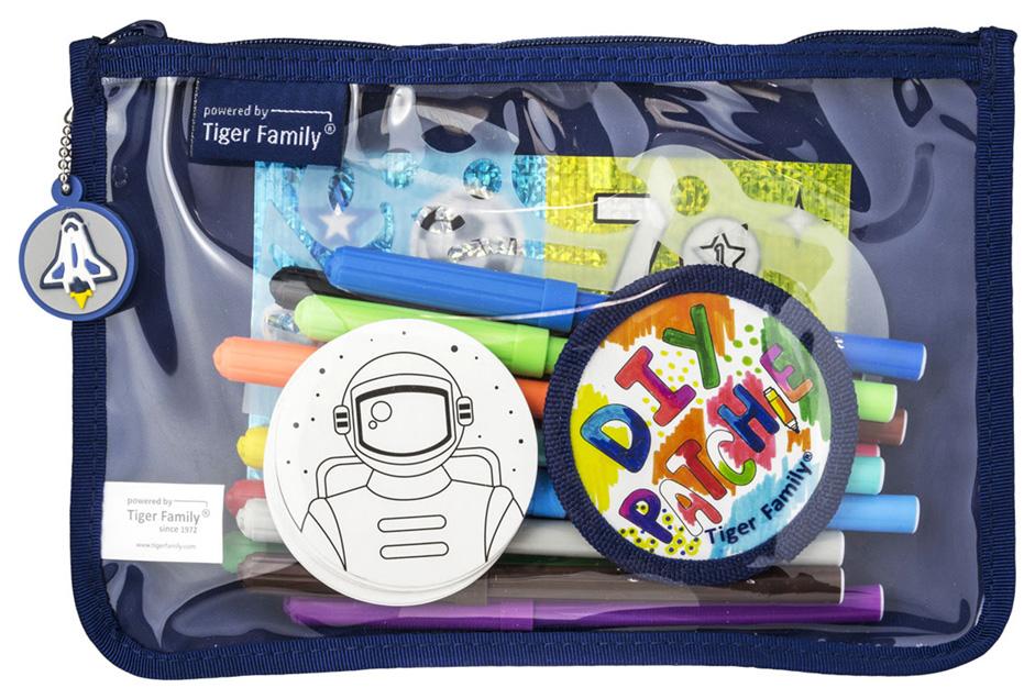 Пенал на молнии Tiger Enterprise DIY SERIES COLLECTION Для мальчиков