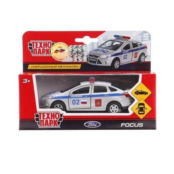 Машинка Технопарк металлическая инерционная ford focus Полиция
