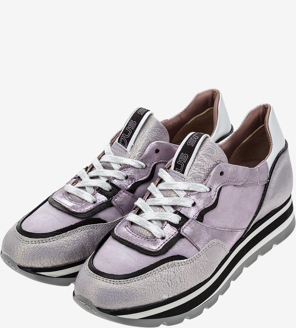 Кроссовки женские MJUS фиолетовые