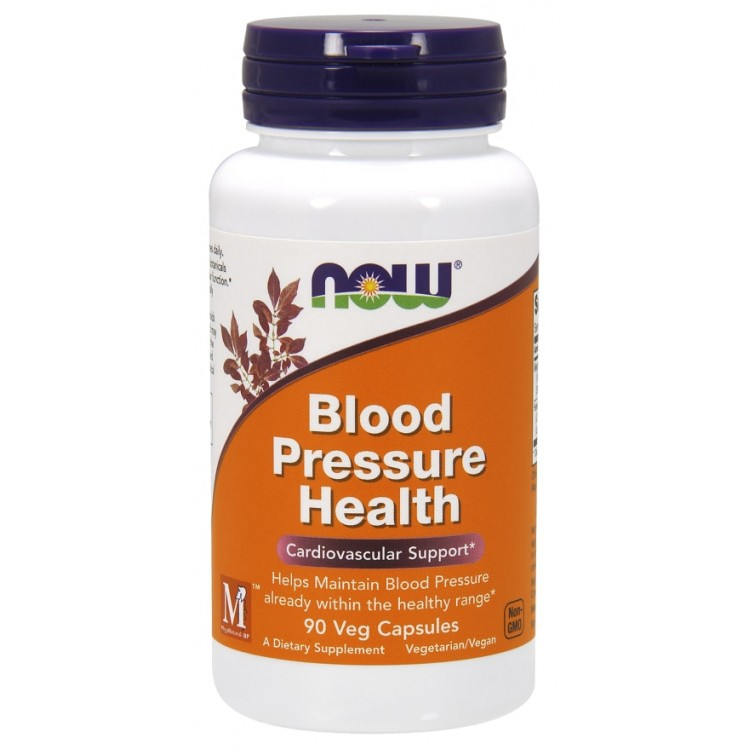 Купить Now Blood Pressure Health капсулы 90 шт.