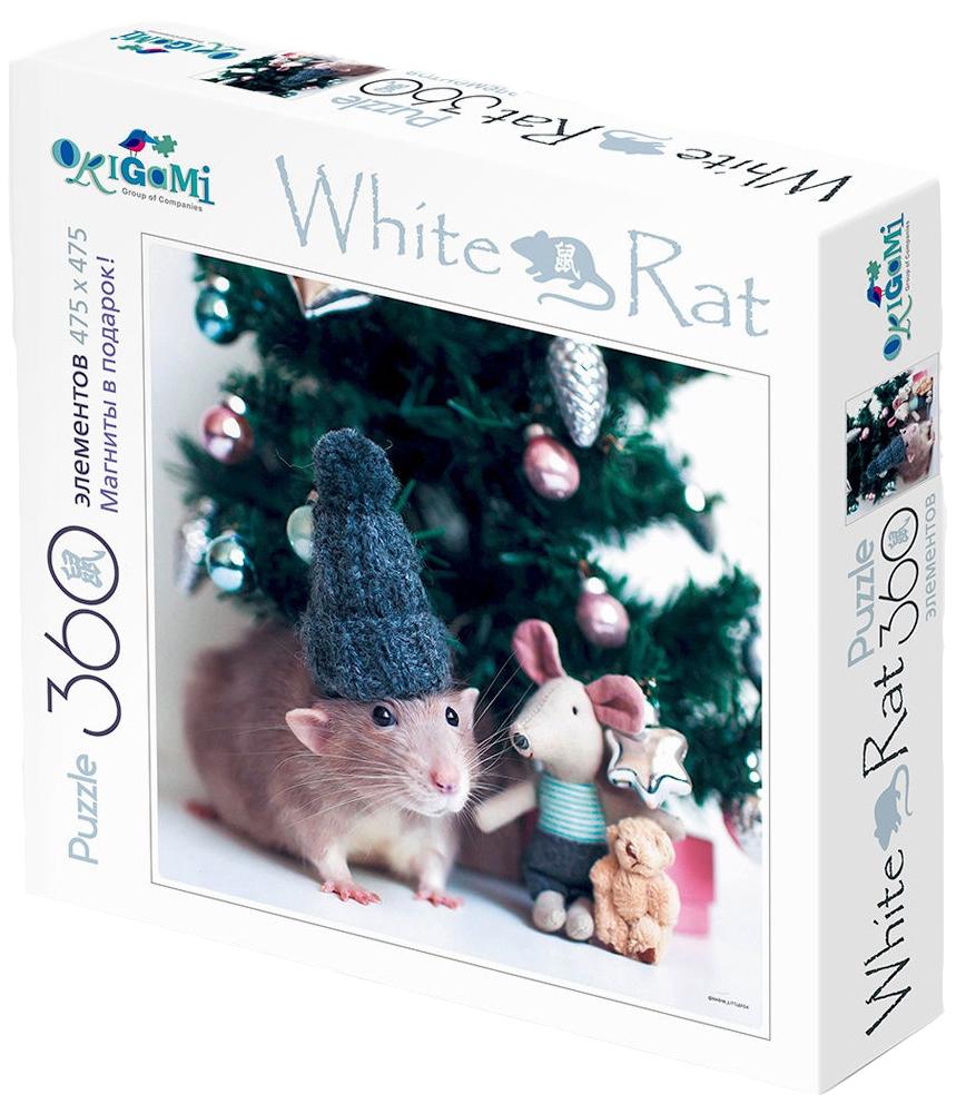 Купить Пазл 360эл White Rat Лучший подарок + 4 магнита, Оригами, Пазлы