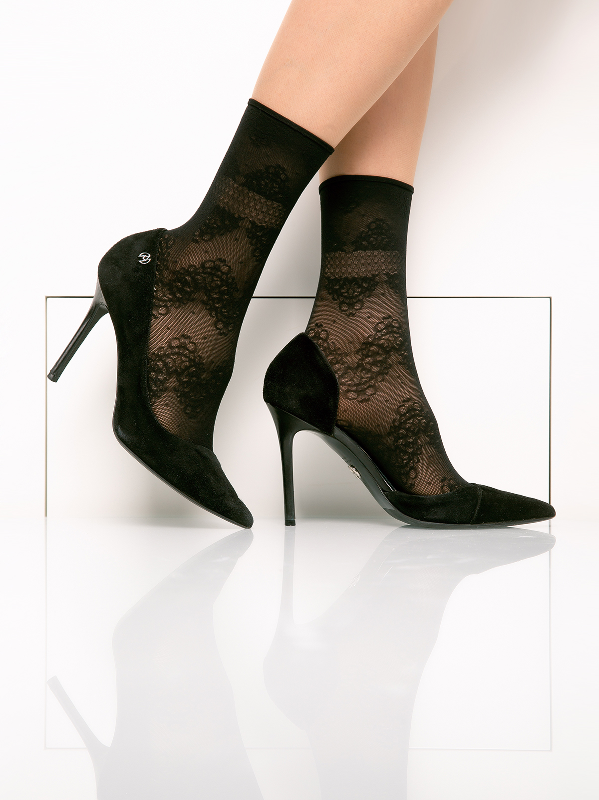 Носки женские Giulia черные UNI
