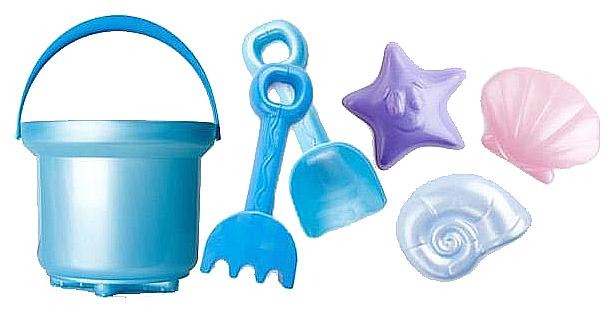 Купить 4028 Песочный набор ЛЮКС 2л Морская прогулка , Рославльская игрушка, Песочные наборы