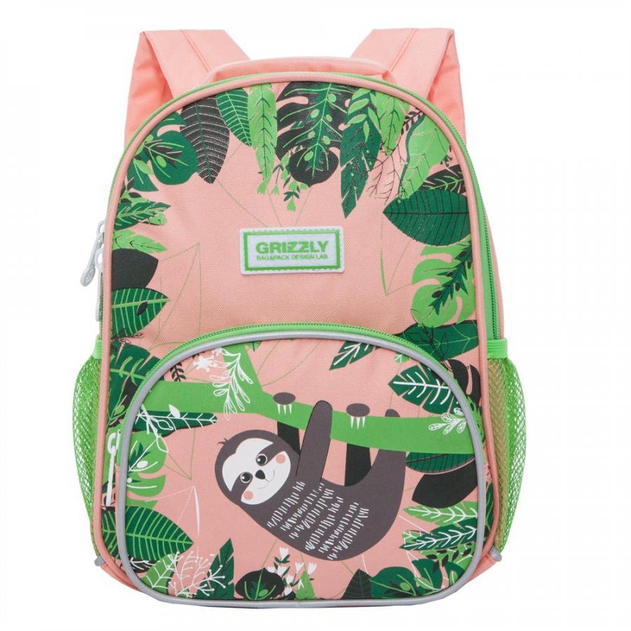 Рюкзак детский Grizzly RK 076 4 персиковый