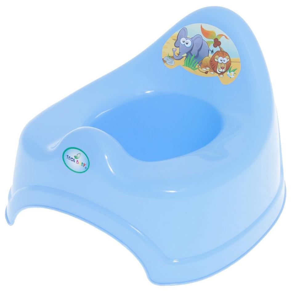 Купить ТЕГА Горшок туалетный со звук.эфф.SAFARI (САФАРИ) синий, Tega Baby, Горшки детские