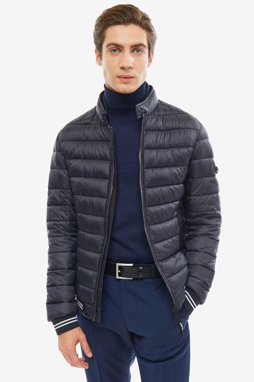 Куртка мужская Strellson 30016372 401 синяя 46 EU, 30016372 401