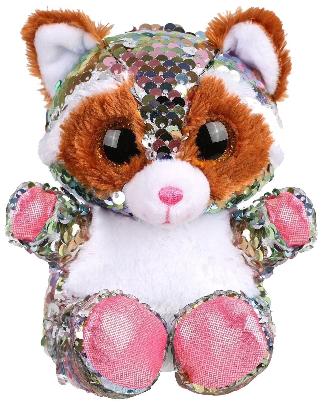 Купить Мягкая игрушка животное Fluffy Family Енот,