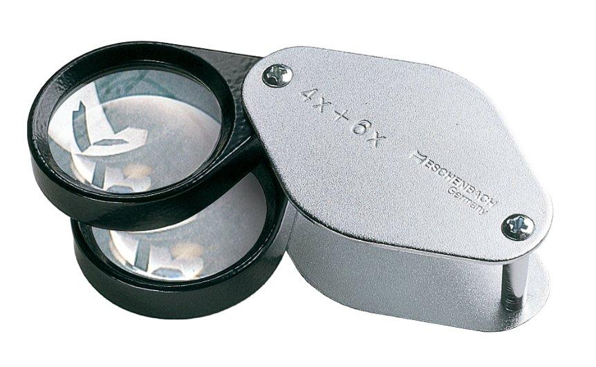 Лупа Eschenbach metal precision folding magnifiers диаметр