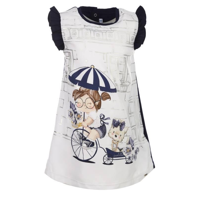 Купить Платье MAYORAL, цв. темно-синий, 92 р-р, Детские платья и сарафаны