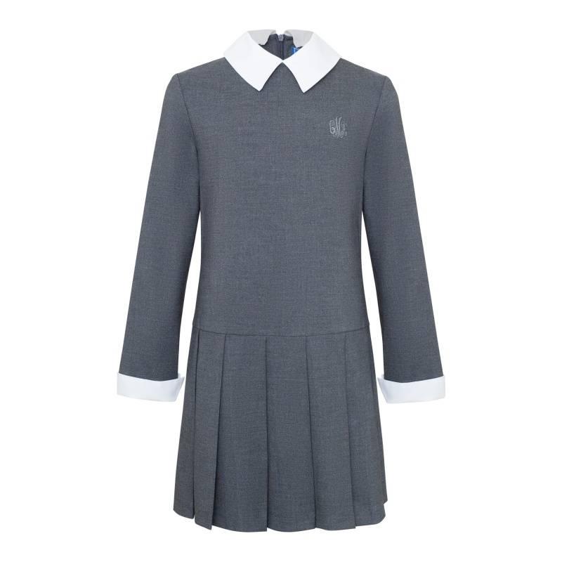 Купить Платье Смена, цв. серый, 146 р-р, Детские платья и сарафаны