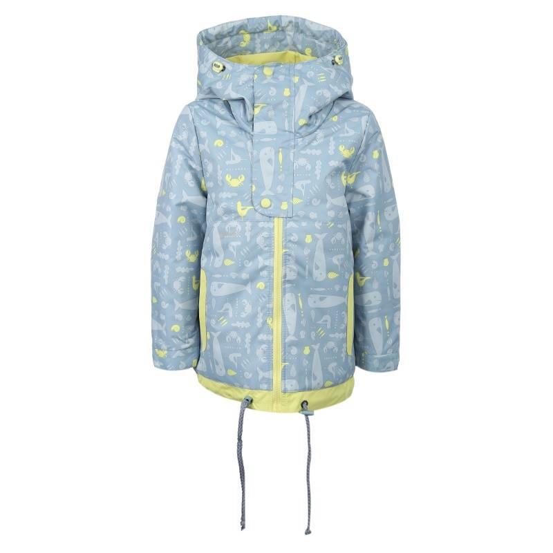 Купить 4056, Куртка Дайвер Emson, цв. голубой, 170 р-р, Куртки для девочек