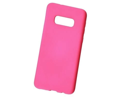 Чехол NewLevel Rubber Hard Pink для Samsung Galaxy S10e