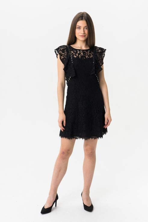 Платье женское GUESS JEANS W93K73WBU20JBLK черное XS