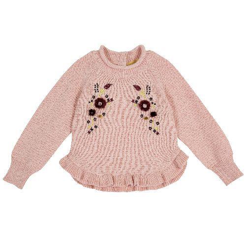 Купить 9069383, Джемпер Chicco для девочек р.86 цв.розовый, Кофточки, футболки для новорожденных