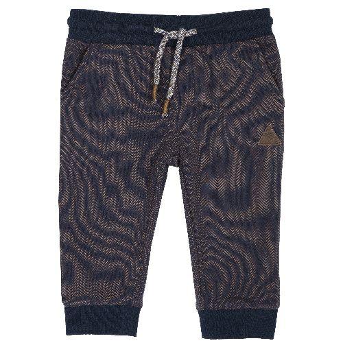 Купить 9008011, Брюки Chicco Треугольник для мальчиков р.92 цв.темно-синий, Детские брюки и шорты