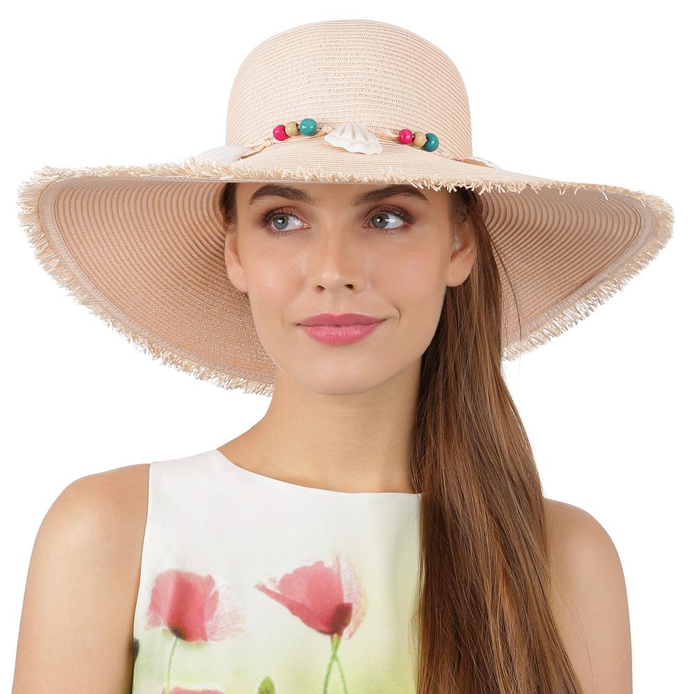 Шляпа женская FABRETTI  розовая