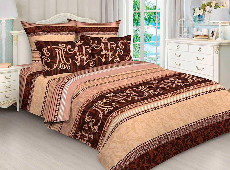 Комплект постельного белья Avrora Texdesign Бязь Люкс 4552, евро