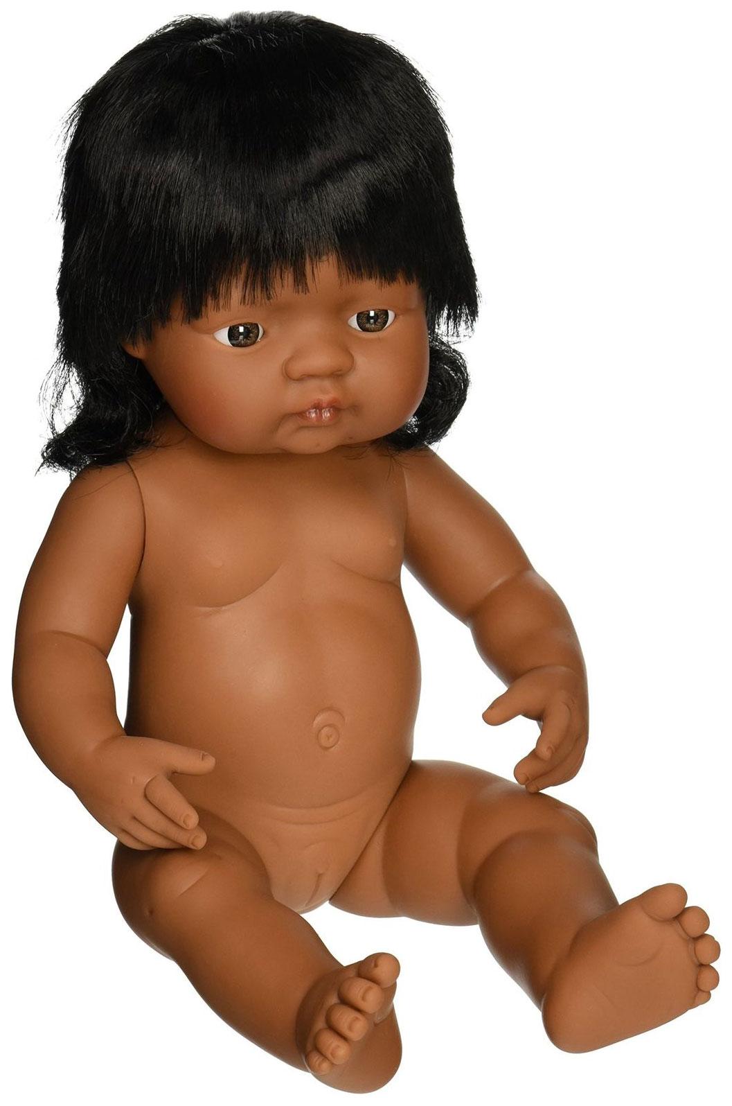 Купить Кукла Miniland Девочка латиноамериканка 31058 38 см, Классические куклы