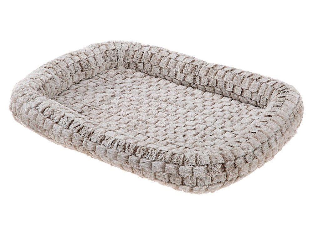 Лежак Ferplast Tender Cuscino мягкий для животных (Д 107 x Ш 66 x В 5 см, Серый)