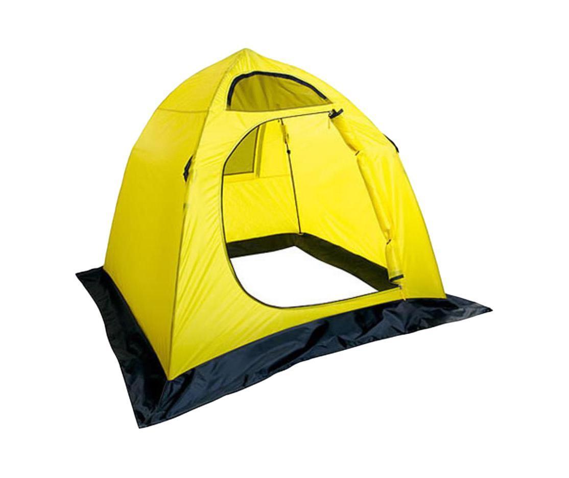 Палатка для рыбалки Salmo Easy Ice двухместная yellow