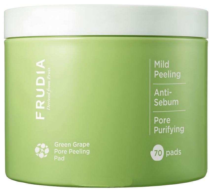 Купить Пилинг-диски для лица Frudia Green Grape Pore Clear Peeling Pad 70 шт