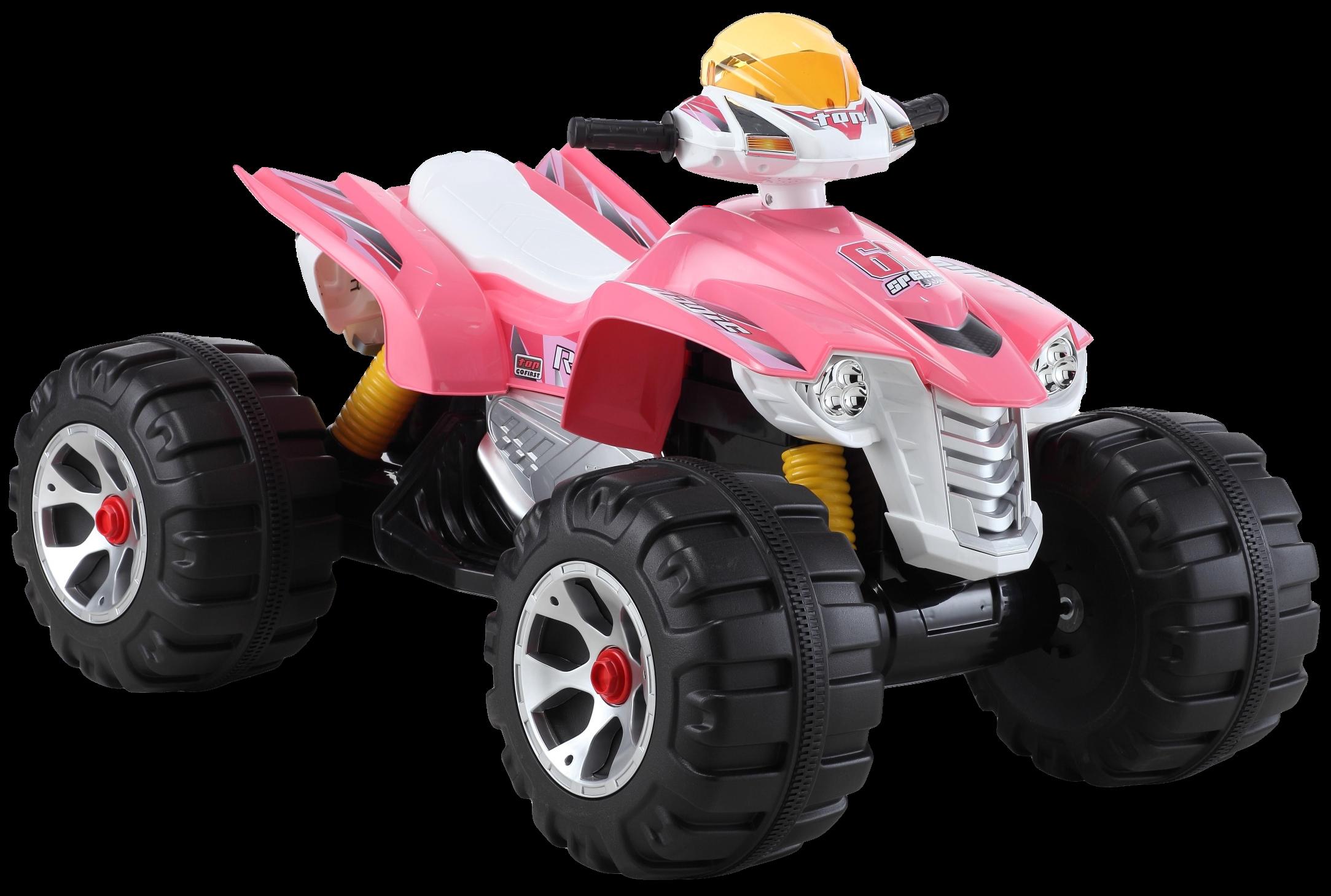 Купить Детский электромобиль Farfello, розовый JS318/1, Электромобили