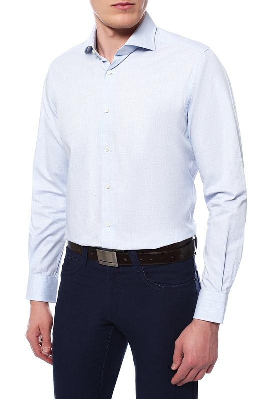 Рубашка мужская Windsor 10004177_430_30007179 голубая 44 DE фото