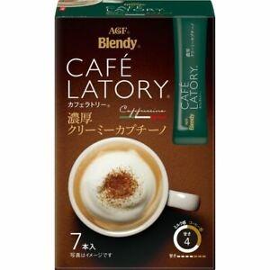 Кофе AGF Cafe Latory растворимый каппучино в стиках 7*11 г фото