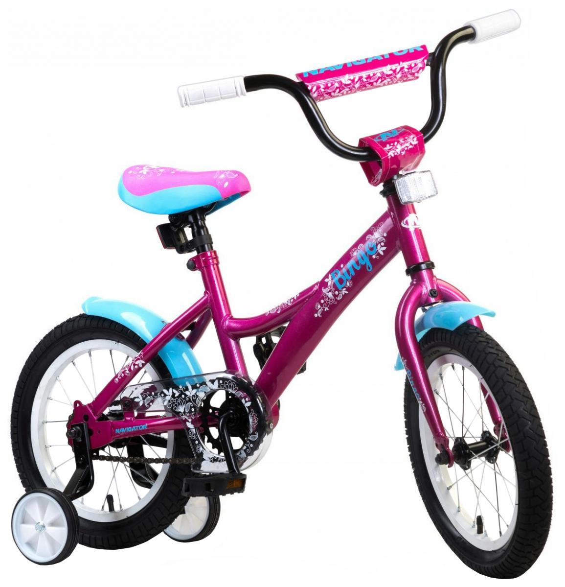 Велосипед Детский Двухколесный Navigator Bingo Вм14179 Розовый