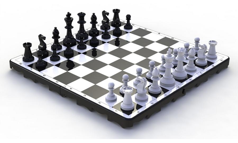 Шахматы Leco 30x30 см, KisPis гп190120