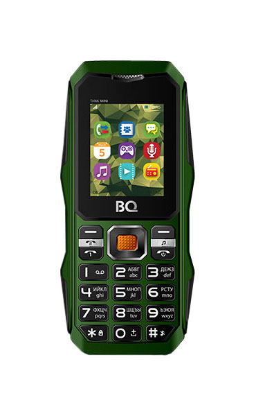 Мобильный телефон BQ 1842 Tank mini Green